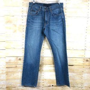 Calvin Klein High Rise Straight Leg Jeans Sz 31